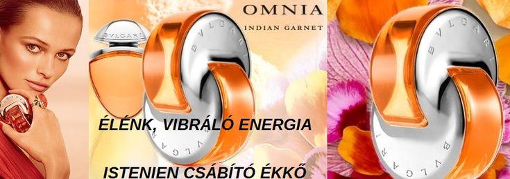 """Bvlgari Omnia Indian Garnet női parfüm  ISTENIEN VIBRÁLÓ ÉS CSÁBÍTÓ ÉKKŐ  Az olasz Bvlgari ékszerészt az indiai mandarin ihlette, legújabb alkotása igazolja, hogy egy egyedi, különleges parfüm, egy igazi illatos talizmán. Világos narancssárga ragyogása, a mandarin figyelemre méltó intenzitása és pompás áttetszősége által a kivételes ékszerészek is úgy vélik, hogy ez az illat nem csupán egy """"értékes"""" drágakő, hanem egy igazi ritkaság.  A meleg, élénk színek varázslata, a nap sárga, a narancs…"""