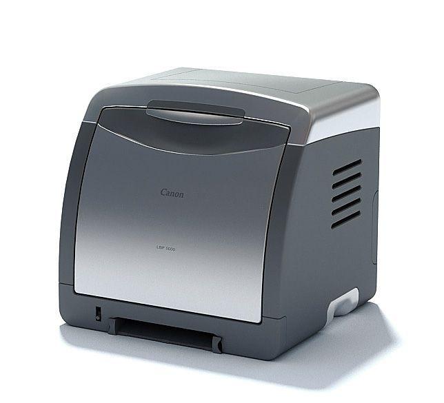 Office Printer Appliance 3d Model Office Printers Printer