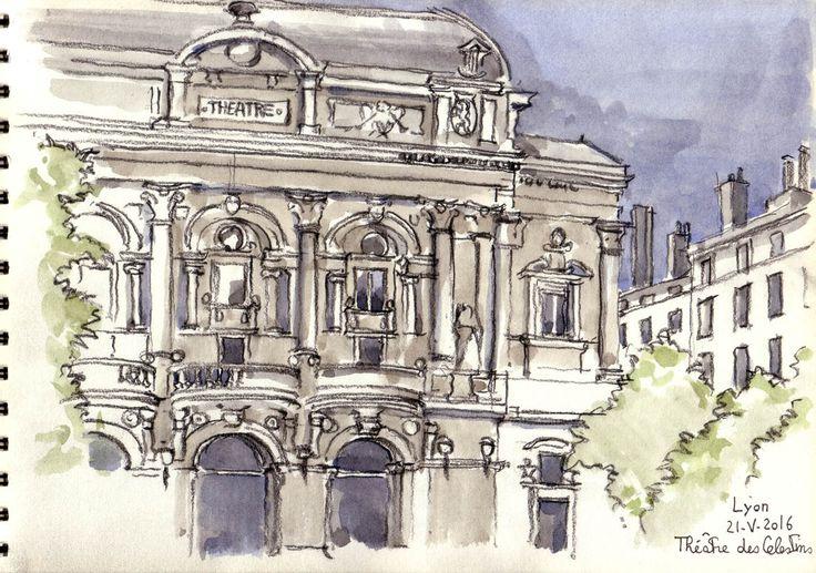 Lyon: le théâtre des célestins