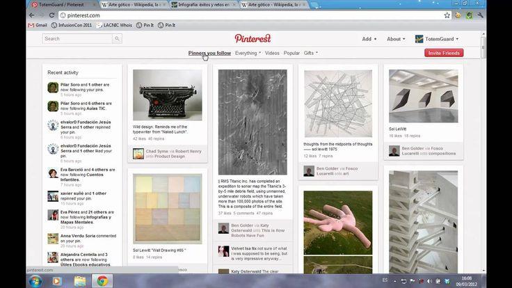 Video Tutorial de Pinterest en español - Meritxell Viñas
