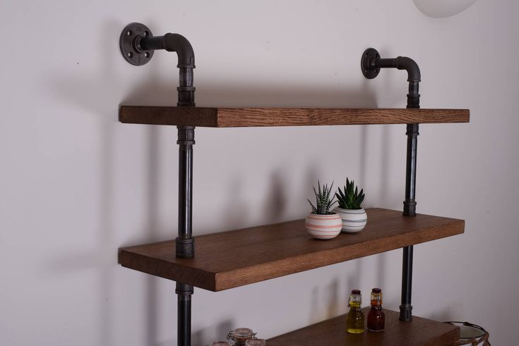 A fantastic addition to any living space. This Industrial oak shelving unit oozes style and will really accentuate any room. With the shelves made from 35mm solid oak and 8 different wood finishes to choose from you can be sure this unit is built to last and will be well suited