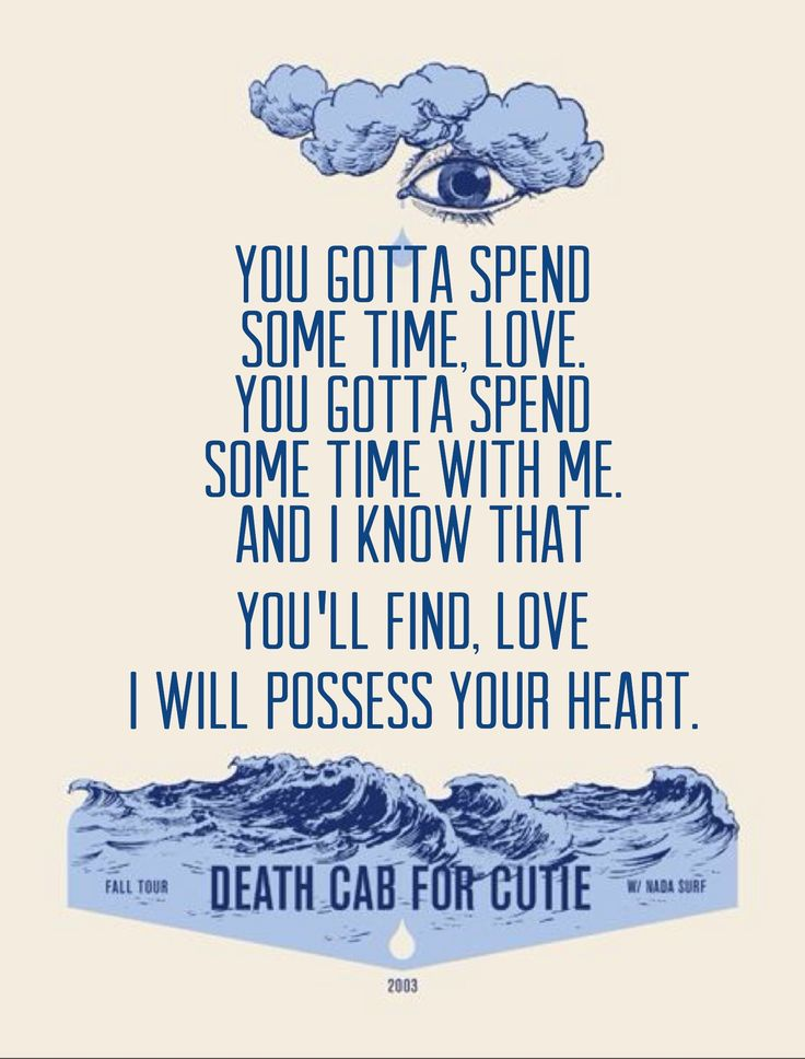 Death Cab For Cutie • I Will Possess Your Heart