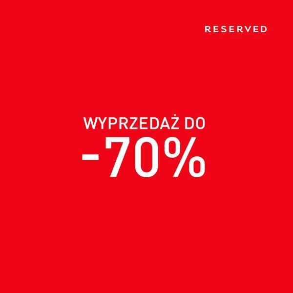 Wyprzedaż w Reserved do -70%