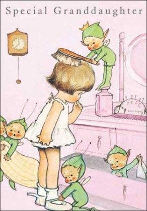 INDIGO cards   Mabel Lucie Attwell (Grandaughter)