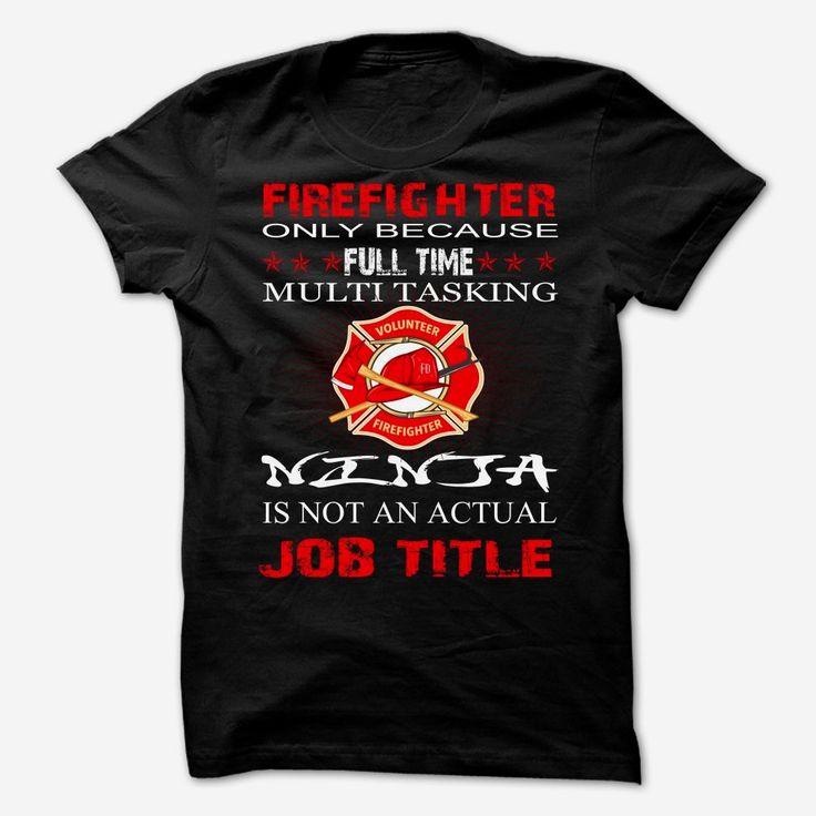 FIREFIGHTER JOB TITLE