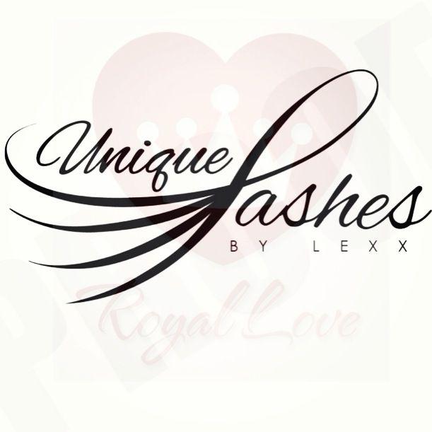 Unique Eyelashes logo #logos #eyelashes #makeup #eyes #typography