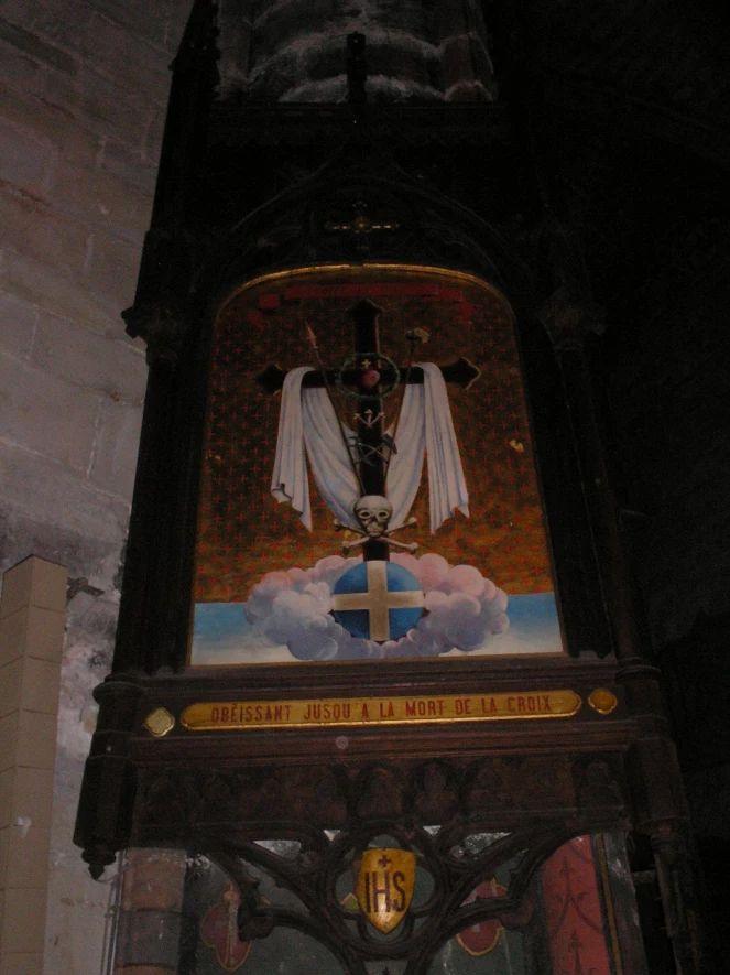 Mirepoix, Cattedrale di Saint Maurice, Via Crucis
