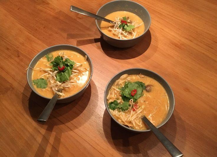 Tom Kha Kai, Thaise soep