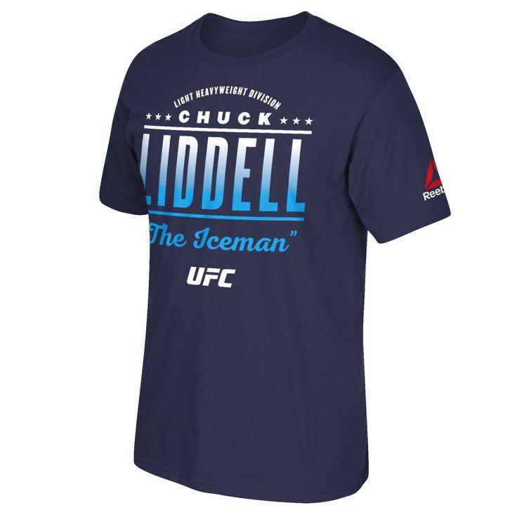 Chuck Liddell Reebok 2016 UFC International Fight Week All-Star Series T-Shirt - Navy - $23.99