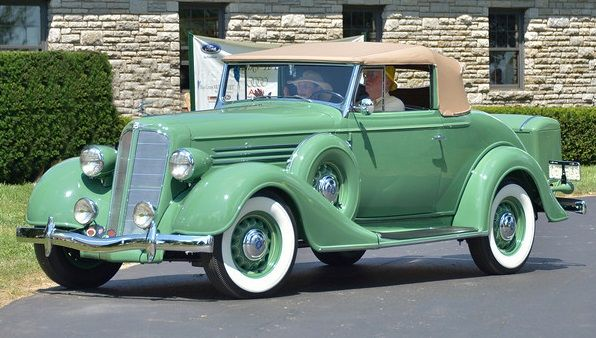 1935 Buick Series 40 convertible