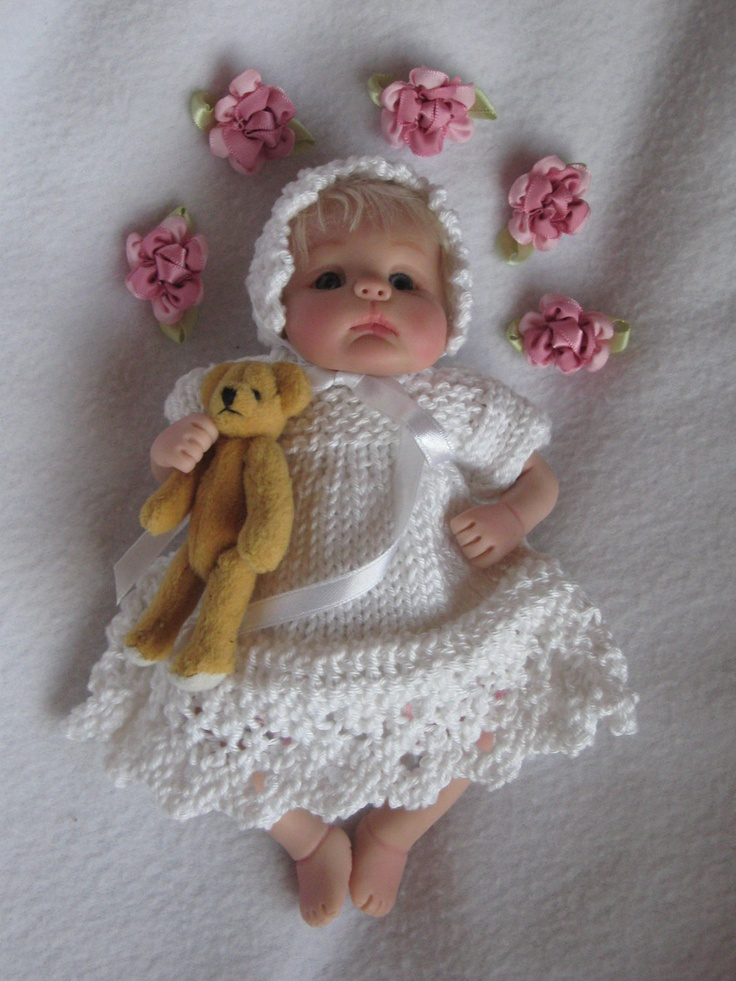 Free Knitting Pattern Tiny Doll