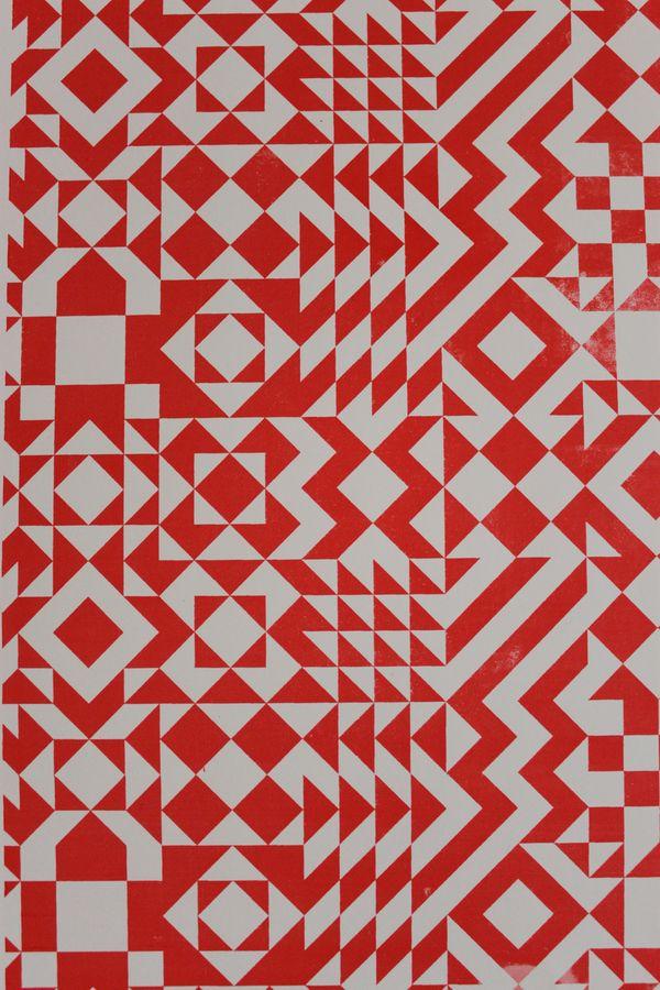 Pattern Design by William Branton, via Behance
