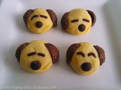 Bento-Mania.....verrückt nach der japanischen Lunch Box: Rezept: Niedliche Hunde-Kekse