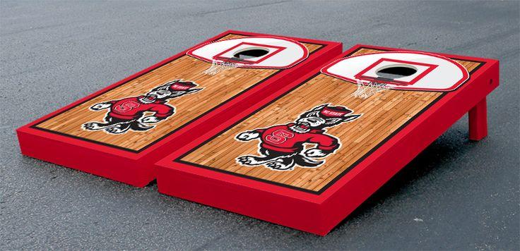 North Carolina Nc State Wolfpack Cornhole Game Set