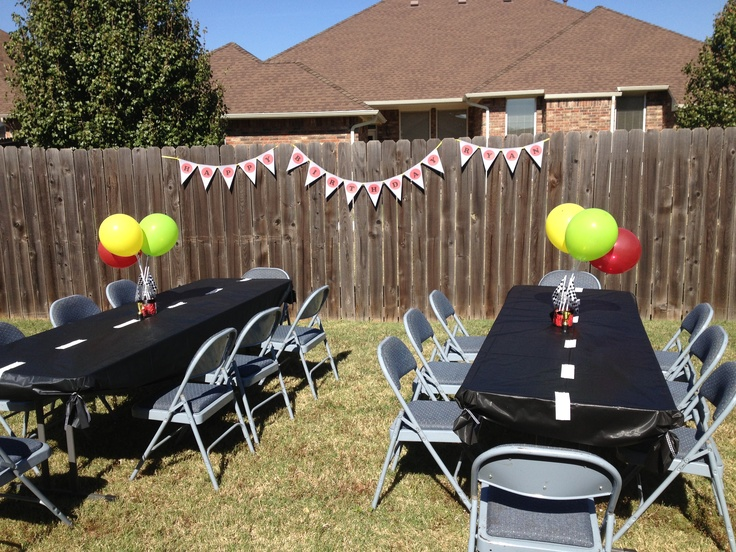 Cars theme birthday