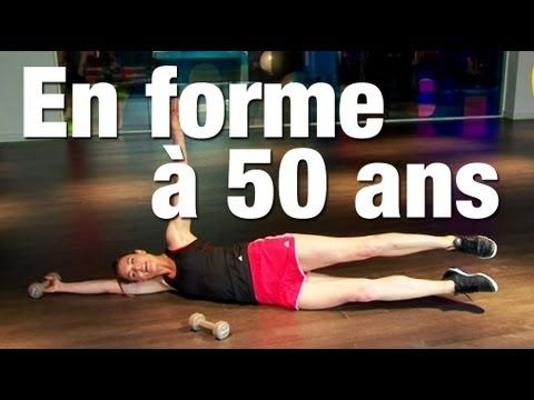 Fitness Master Class - En forme à 50 ans - YouTube