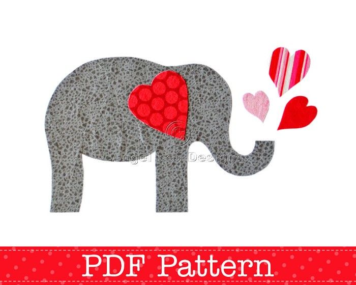 elephant applique pattern - Yahoo Search Results