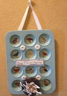 Use a 12 muffin tin to put the 12 days of Christmas pictures inside!