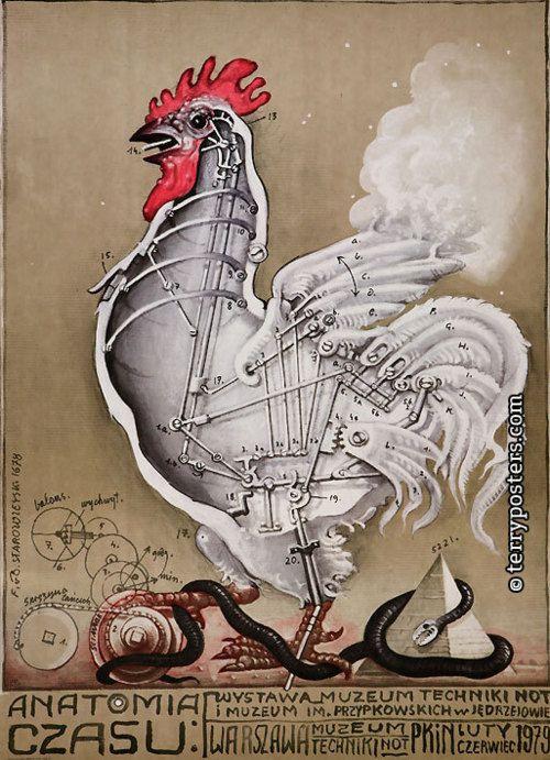 """""""Anatomia Czasu"""" by Franciszek Starowieyski"""