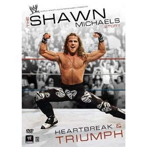 "WWE - The Shawn Michaels Story: Heartbreak & Triumph. He's the Heartbreak Kid; the Show Stopper. For more than two decades, Shawn Michaels has had amazing matches inside the ring and controversial moments outside it. Now, for the first time on DVD, fans can see the  whole story.  From the Rockers to D-Generation X with Triple H, the Clique to the ""Montreal Screwjob,"" every ounce of Michael's heartbreak and triumph is here!"