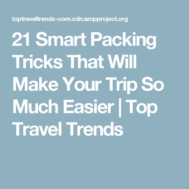 Best 25 Smart Packing Ideas On Pinterest Vacation