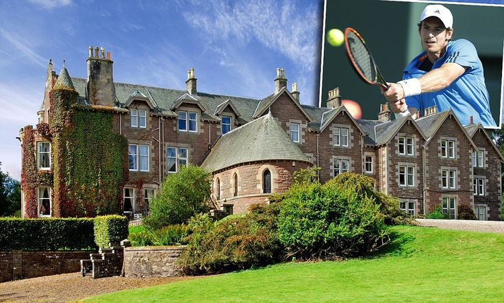 Revealed - Andy Murray's new five star hotel at Cromlix House