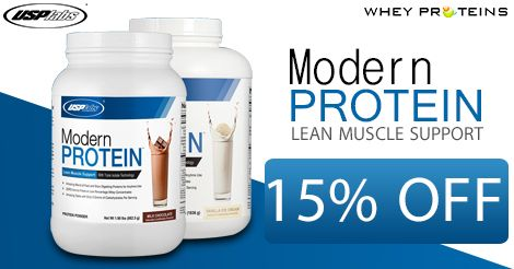 USP Labs Modern Protein is the Best Muscle Gainer Supplement.