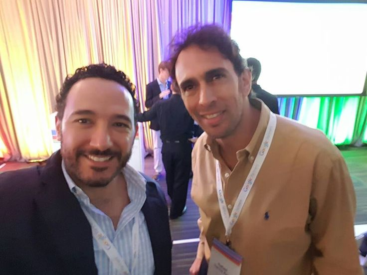Enrique Culebro, Director General y Rafael García, Director de Comunicación Digital de Central Media en #GooglePartnersLEAD