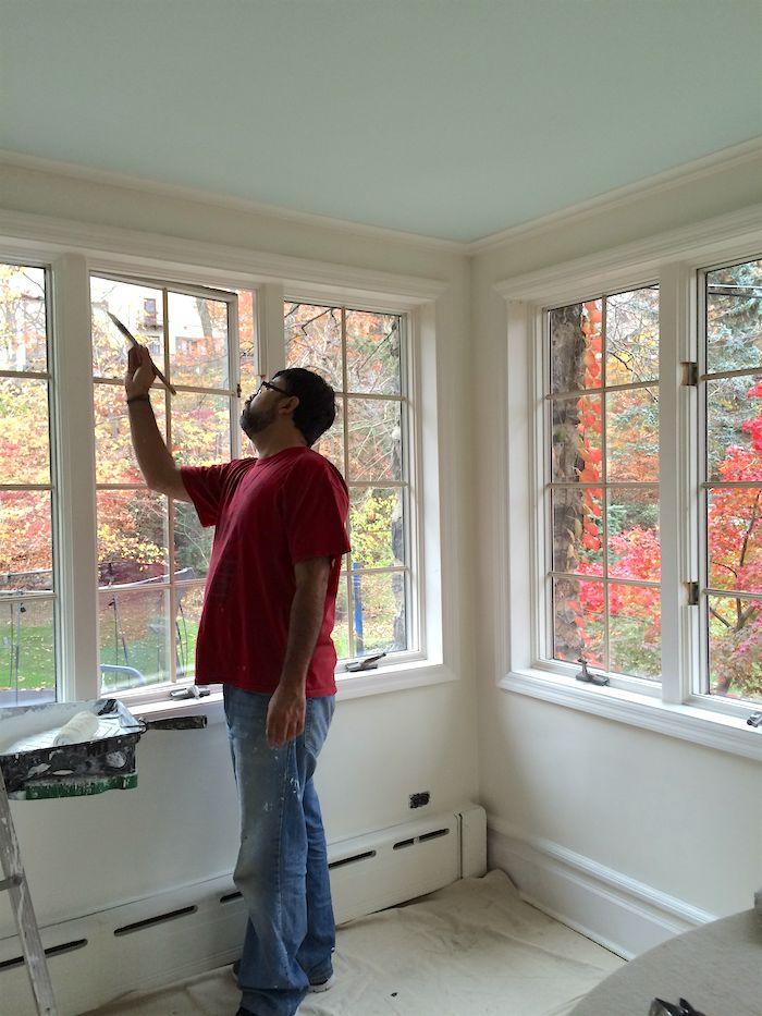Ceiling Paint Colors best 25+ ceiling color ideas on pinterest | diy ceiling paint