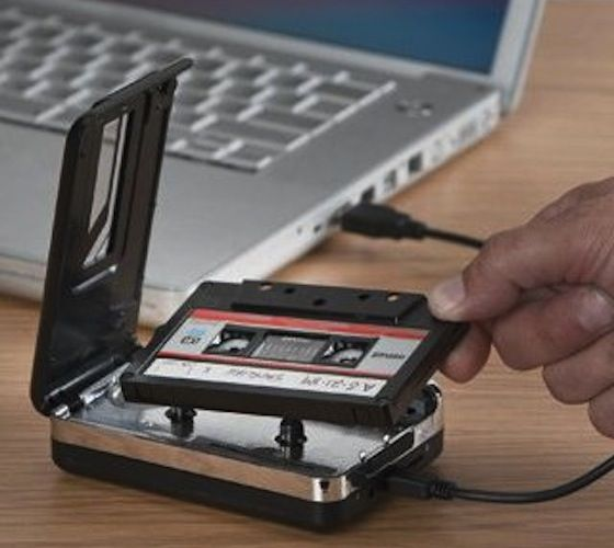 USB Cassette to MP3 Converter – $50--this could be very handy :)