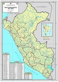 Resultado de imagen para mapa hidrografico del peru