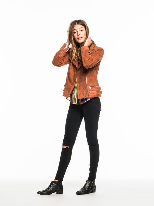 les 25 meilleures id es concernant vestes de motards en cuir sur pinterest cuir clout. Black Bedroom Furniture Sets. Home Design Ideas