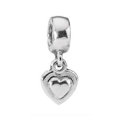 PANDORA Silver Heart Dangle X09377