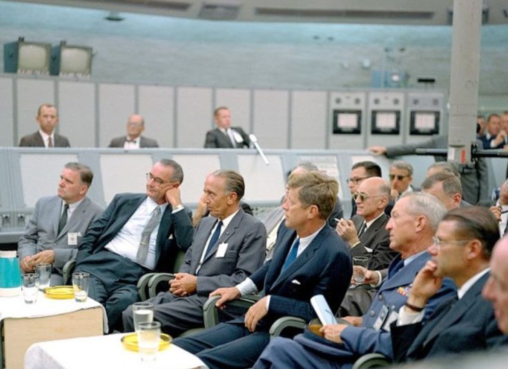 JFK and LBJ during the Cuban Missile Crisis, 1962