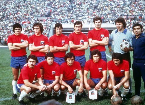 Selección de Chile frente a Perú (13 de Mayo de 1973).