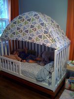 I'm a total sucker for tents and forts. I had so much fun as a kid turning my mom's living room into a giant fort and imagining to my hearts content. A couple months ago on a whim I stretched...