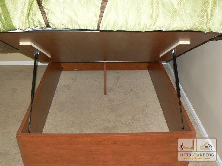 Custom built storage bed Arizona