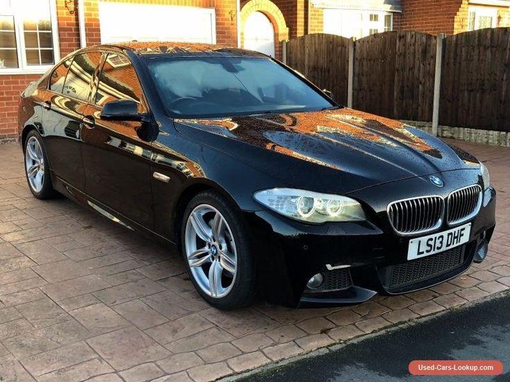 BMW 530D M Sport F10 saloon 2013 (13 plate) diesel automatic in black sat nav #bmw #sport #forsale #unitedkingdom