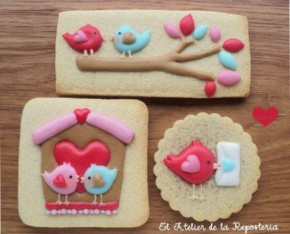Pajaritos de San Valentin | Cookie Connection