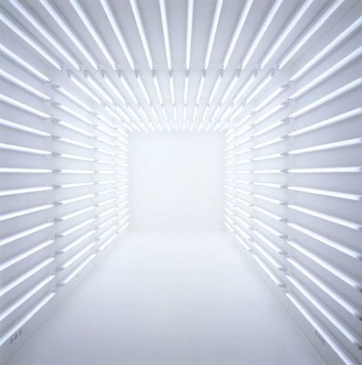 passage way light installation. don't walk into the light!