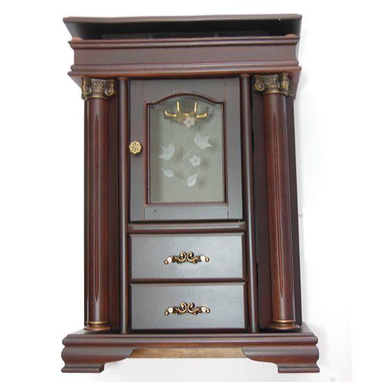 Fa ékszertartó szekrény - 35 cm