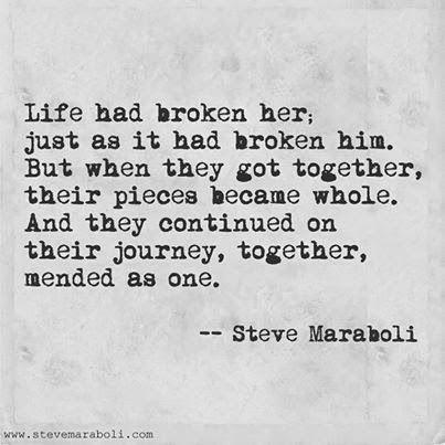 Steve Maraboli love quote