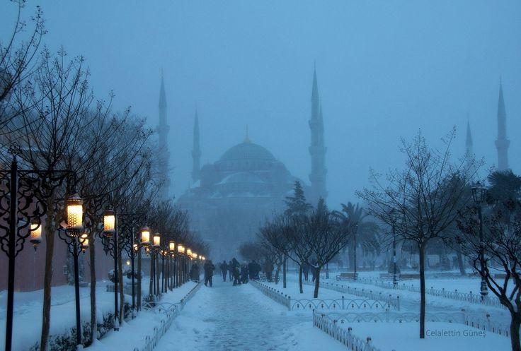 Night and Blue Mosque - Gece ve Mavi Cami
