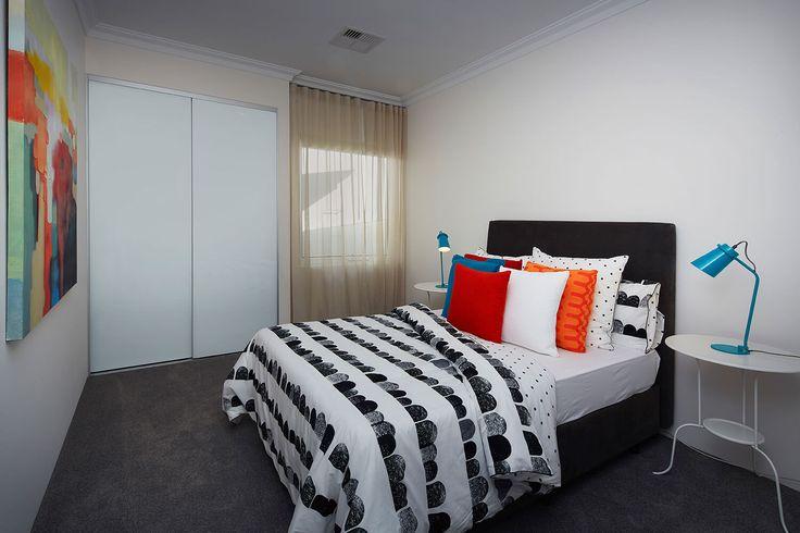 The Belvoir display home Hilbert, Perth. Bedroom
