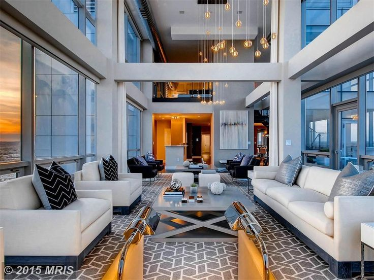 Elegant Silo Point Penthouse In The Sky   Baltimore Business Journal