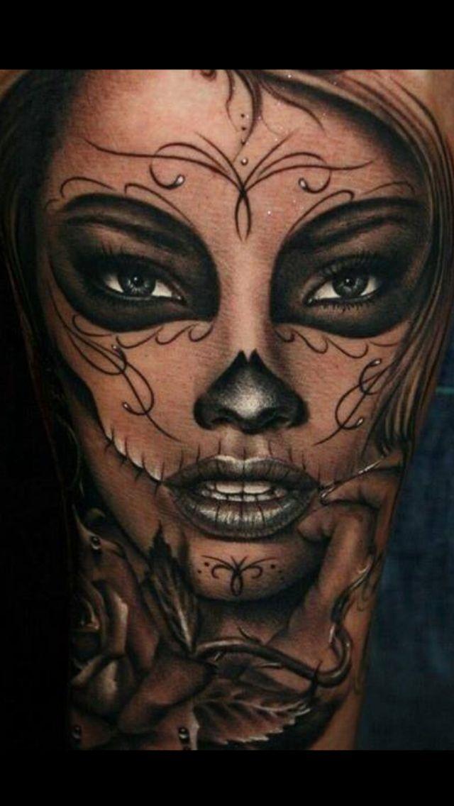 """Résultat de recherche d'images pour """"la catrina tattoo"""""""