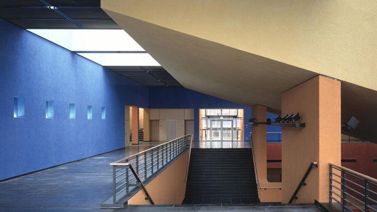 Germany, Chemnitz Lecture Theater Center, Chemnitz Technical University