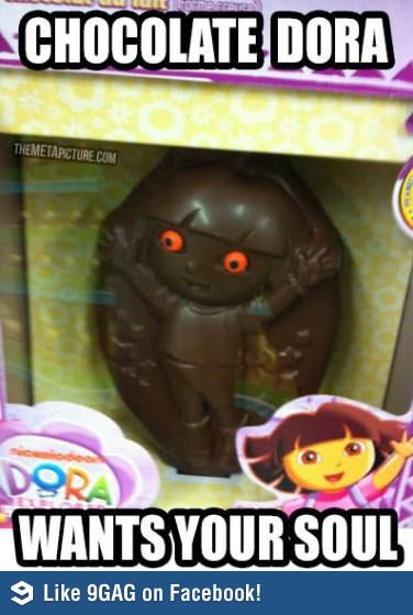 Dora the satanic explorer <<<<<<------------ I wasn't going to pin but then I read that description and I DIED