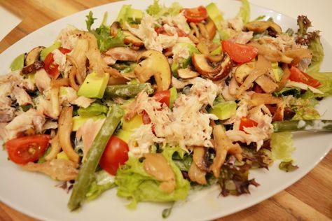 Recept: Salade met Gerookte makreel