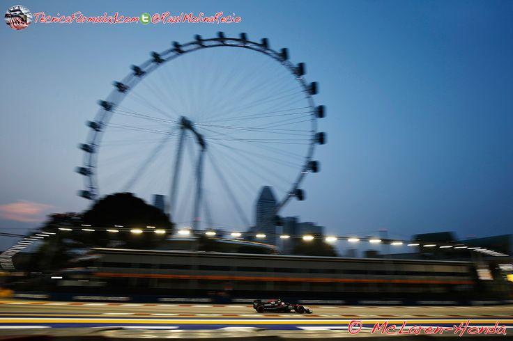 "Alonso: ""McLaren-Honda tiene ahora el mismo kilometraje que Mercedes tras Australia""  #F1 #Formula1 #SingaporeGP"